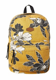 O'Neill Women's Classic Canvas Backpack Amber/Blazing