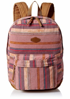 O'Neill Women's Classic Canvas Backpack Wine/Shoreline
