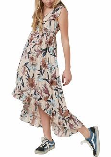 O'NEILL Women's Clea Woven Dress Hi Lo Hem  M