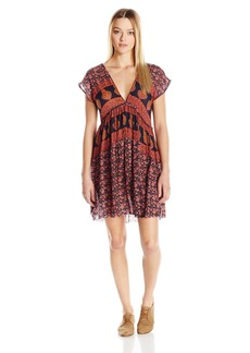 O'Neill Junior's Deb Printed Woven Dress  L