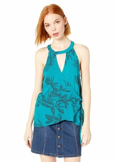 O'NEILL Women's Emison Woven Wrap Halter Top  XL