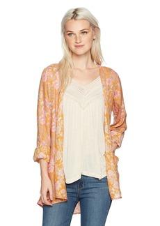 O'NEILL Women's Esperanza Woven Kimono Top Multi CLR - MUL M