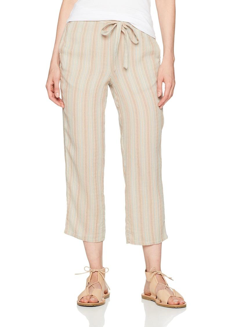 O'NEILL Women's Falyn Tie Sash Pant Smoke Gray/smog L