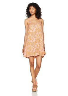 O'Neill Women's Fortune Printed Woven Dress Multi Clr-Mul L