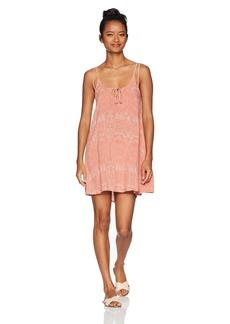 O'Neill Women's Franco Key Hole Front Dress Dusty Pink-Apt XS