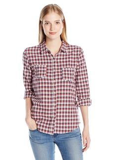 O'Neill Women's Freestyle Plaid Shirt  XL