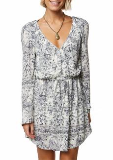 O'NEILL Women's Gretchen Bell Sleeve Dress  L