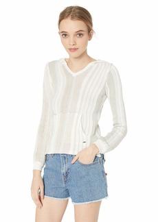 O'Neill Women's Heated Stipe Pullover Sweater  L