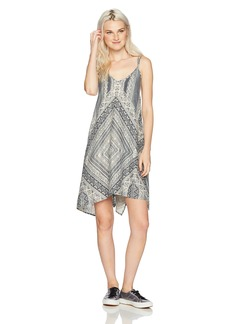 O'Neill Women's Judd Woven Tank Dress Multi Clr-MUL XL