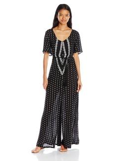 O'Neill Juniors Cynthia Vincent Camara Caftan Maxi Dress