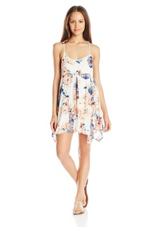 O'Neill Juniors Lara Printed Handkerchief Floral Dress