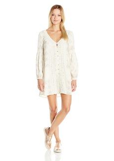 O'Neill Women's Juniors Paz Long Sleeve Printed Dress