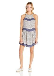 O'Neill Juniors Renee Printed Halter Dress