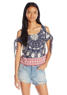 O'Neill Junior's Lianne Printed Blouse  mall