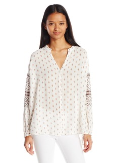 O'Neill Junior's Lilith Prited Blouse  L