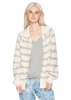 O'Neill Women's Marina Stripe Cardigan Sweater  S