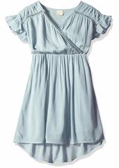 O'NEILL Women's Maya Woven Dress with Hi Lo Hem  L