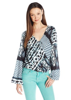 O'Neill Junior's Melissa Printed Blouse  arge
