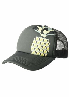 O'Neill Women's Mesh Back Adjustable Trucker Hat Grey/All Out