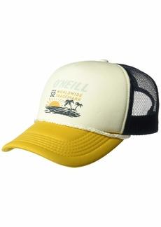O'NEILL Women's Mesh Back Adjustable Trucker Hat Sunflower/Trademark