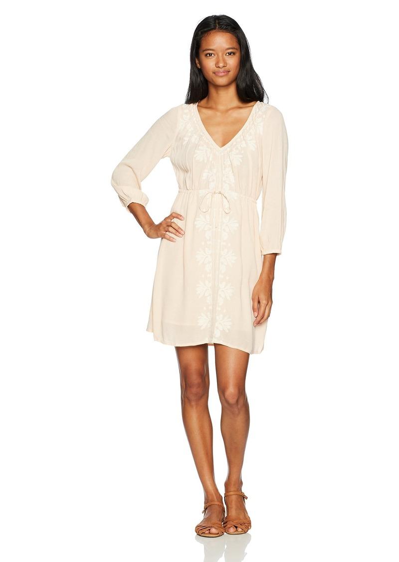 O'Neill Women's Mina Embroidered Detail Dress  XL