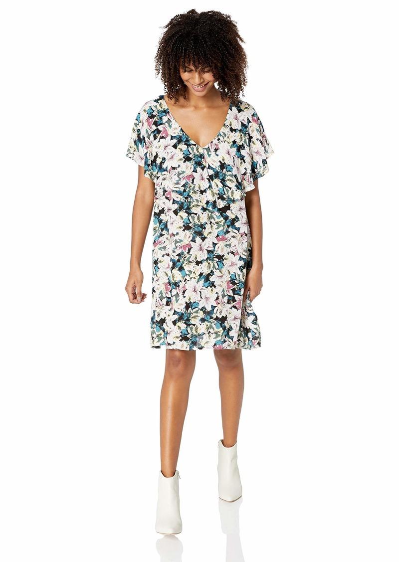 O'NEILL Women's Miran Woven Short Sleeve Dress  M