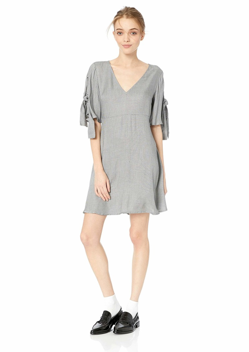 O'NEILL Women's Muriell Woven Dress with Tie Sleeves  L
