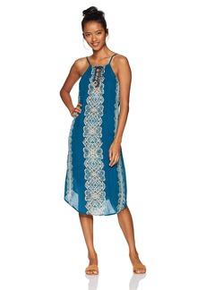 O'Neill Women's Nicole Lace up Front Dress  XL