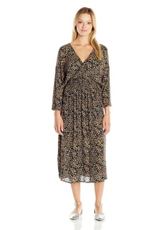 O'Neill Junior's Paige Woven Midi Dress