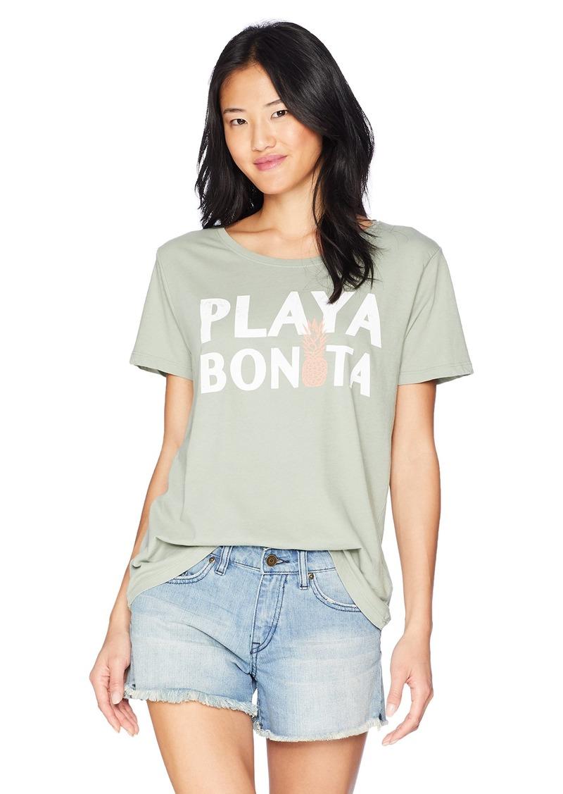 O'Neill Women's Playa Bonita S/S Screen Print Tee  XL