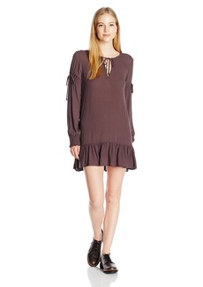 O'Neill Women's Pluto Long Sleeve Woven Dress  L