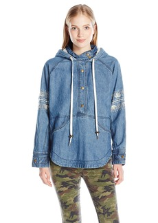 O'Neill Women's Redwood Denim Pullover Jacket  XS