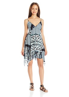 O'Neill Junior's Sail Printed Handkerchief Hem Dress White/White