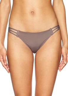 O'Neill Women's Salt Water Solids Strappy Pant Swimsuit  L