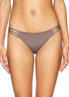 O'NEILL Women's Salt Water Solids Strappy Pant Swimsuit  XS
