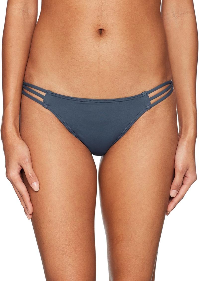 6d495f0c25 O Neill O Neill Women s Salt Water Solids Strappy Pant Swimwear XS ...