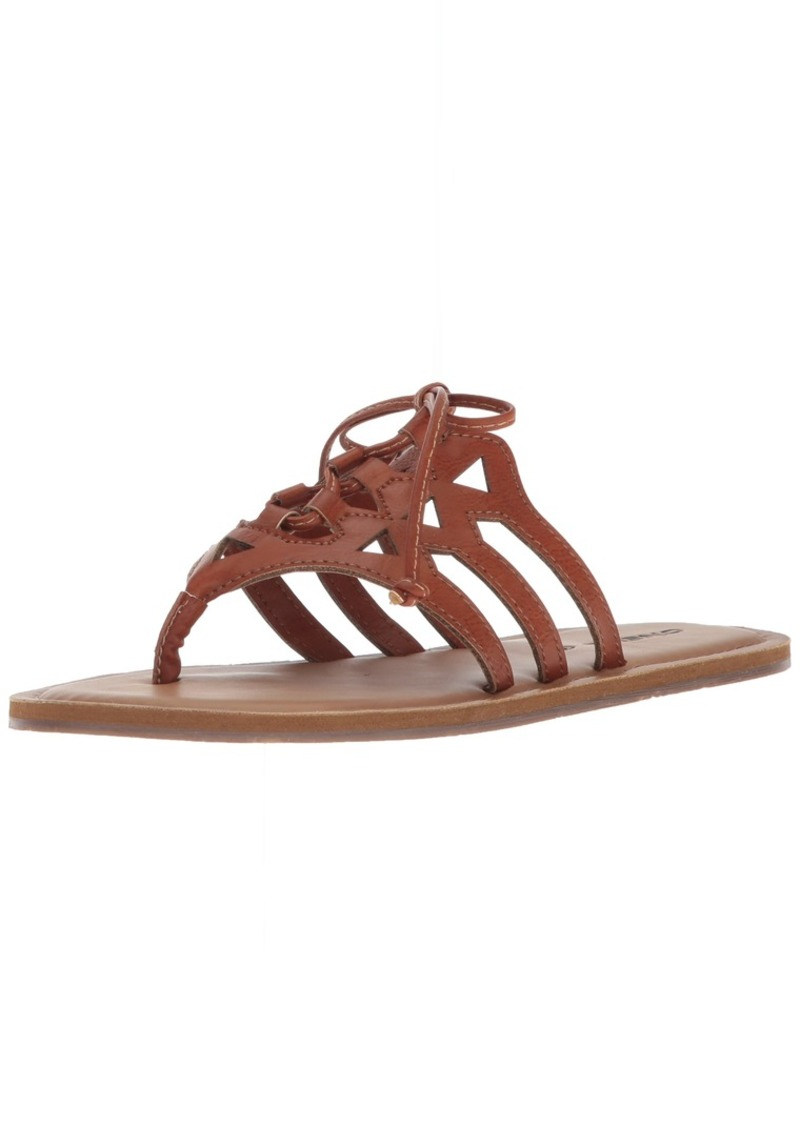 O'NEILL Women's Sarafina Sandals Flip-Flop tan  Medium US