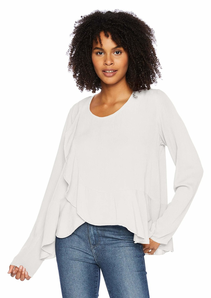 O'Neill Women's Selena Long Sleeve Woven Top  XS