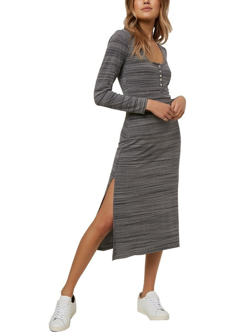 O'NEILL Women's Shellsea Knit Midi Dress  XL