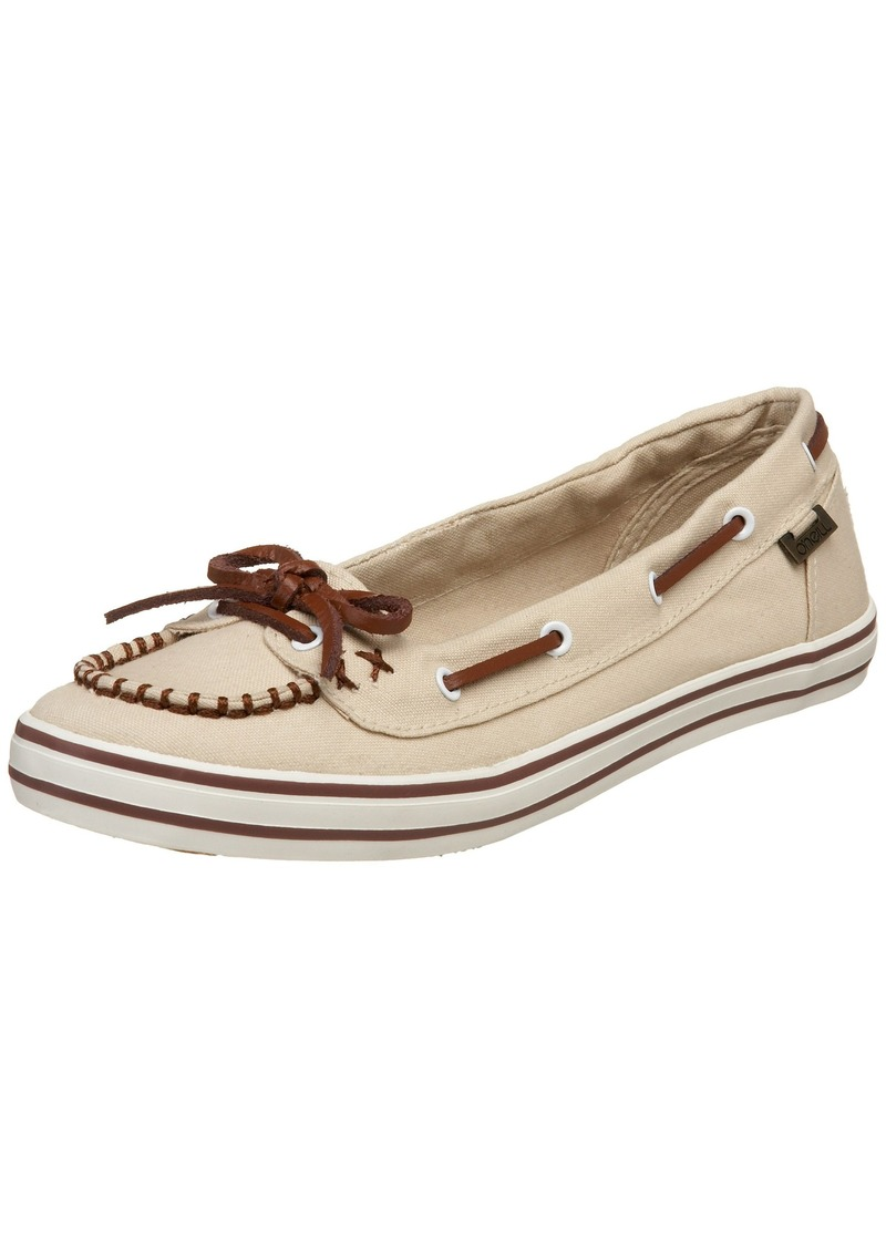 O'NEILL Women's Wednesday Canvas Vulcanized Slip On Boat Shoe M US