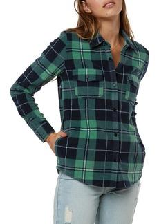 O'Neill Zuma Plaid Fleece Shirt