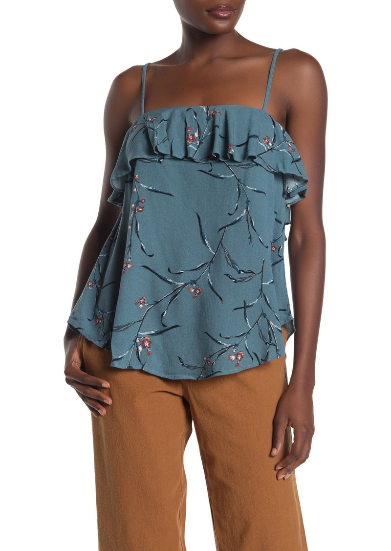 O'Neill Ridges Floral Ruffle Camisole