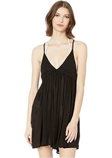 O'Neill Saltwater Solids Tank Dress Cover-Up