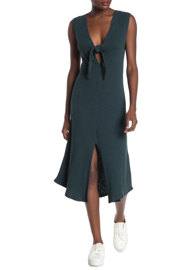 O'Neill Sandra Front Knot Knit Dress