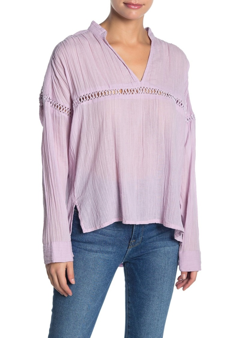 O'Neill Seaside Long Sleeve Gauze Top