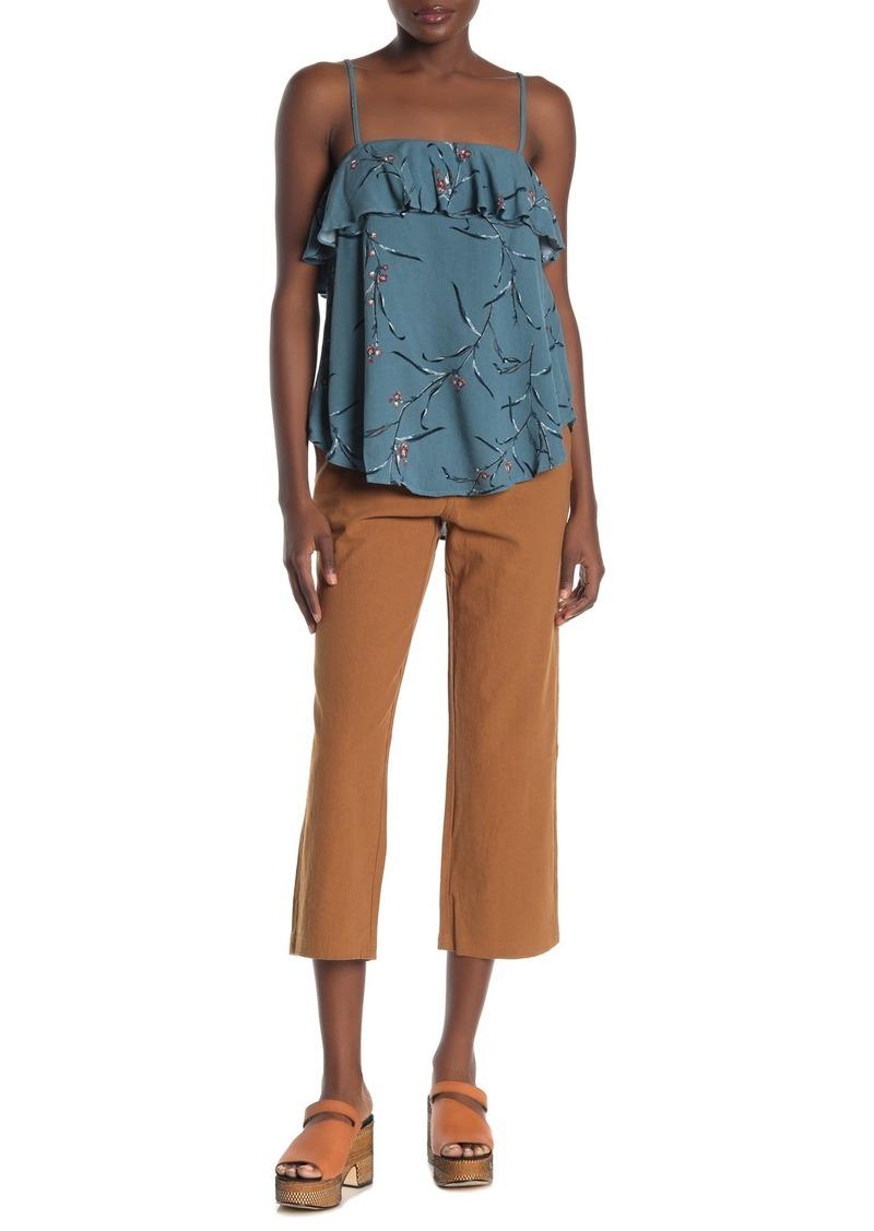 O'Neill Seger Pleated Linen Blend Pants