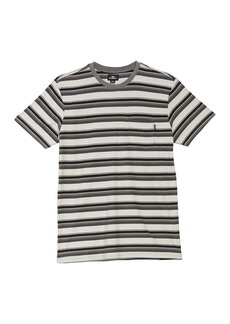 O'Neill Smasher Crew Neck Short Sleeve Stripe T-Shirt