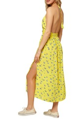 O'Neill Solstice Floral Halter Midi Dress