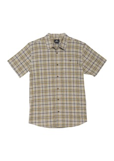 O'Neill Static Plaid Short Sleeve Standard Fit Shirt