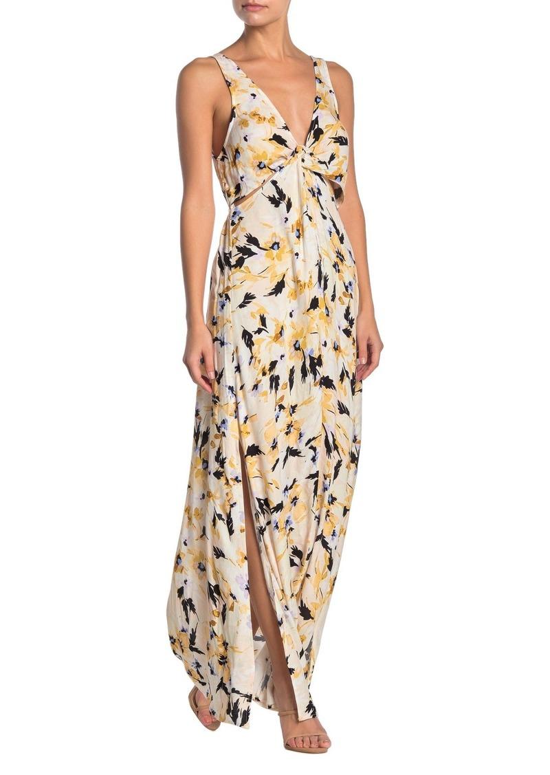 O'Neill Theodora Twist Front Maxi Dress
